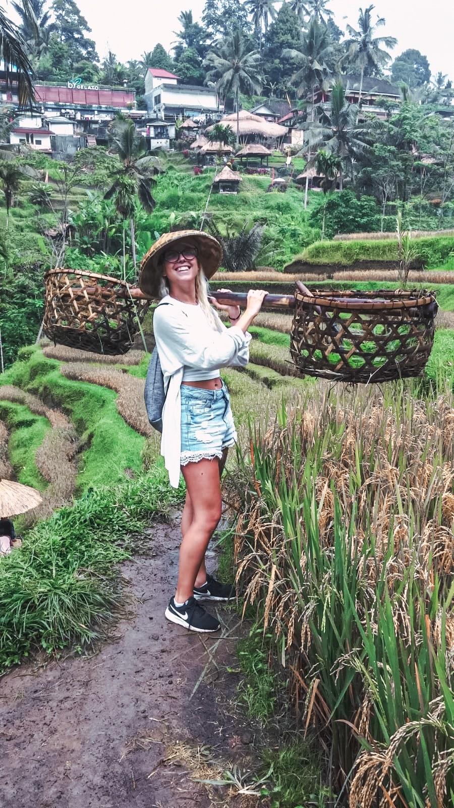 I posti più instagrammabili di Bali - le terrazze Tegallalang