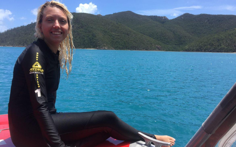 Snorkeling a Whitsunday Island