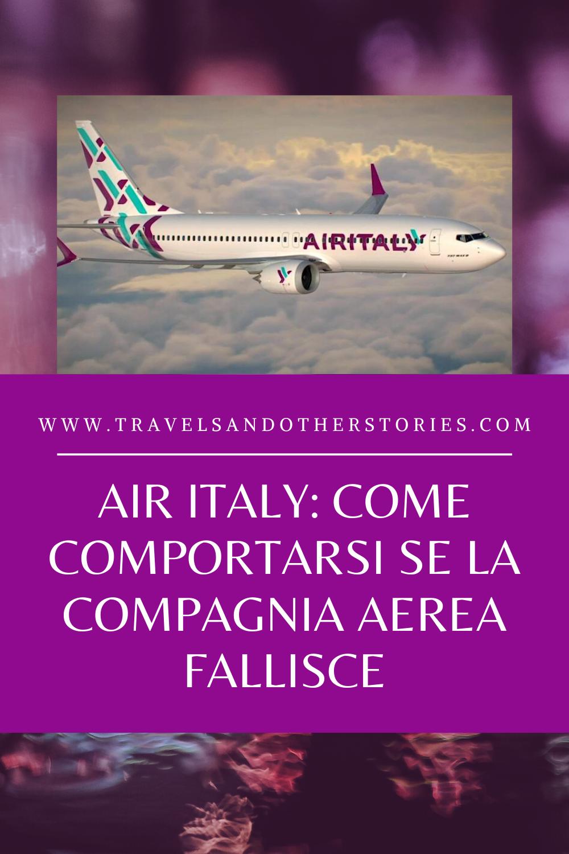 Air Italy: come comportarsi se la compagnia aerea fallisce