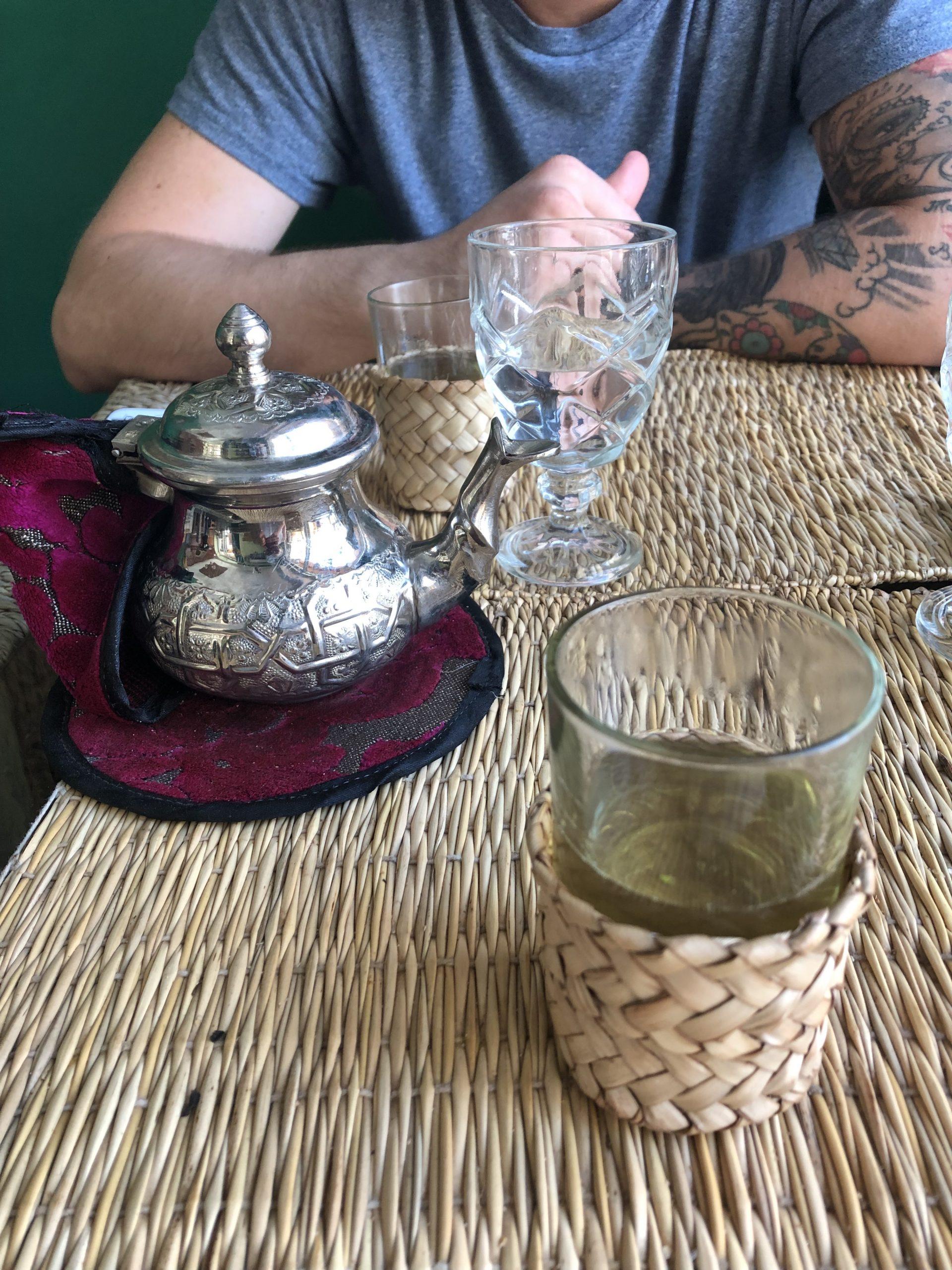 Tè alla verbena