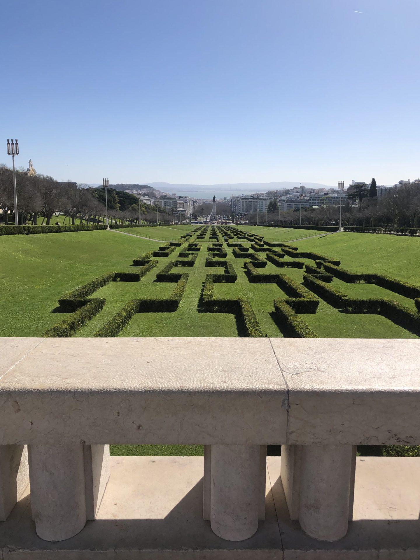I posti più instagrammabili di Lisbona - Parque Eduardo VII