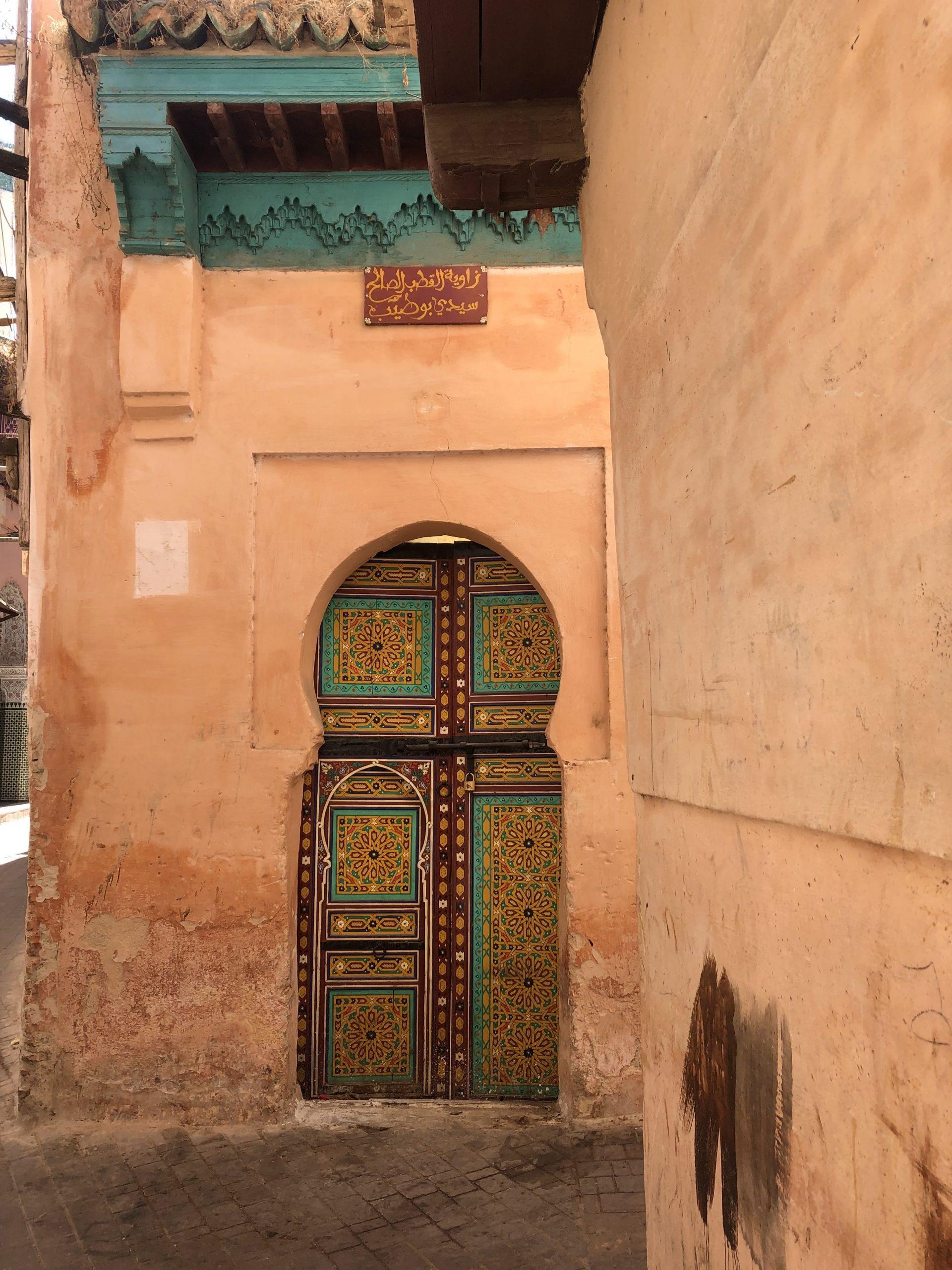 Itinerario Marocco in treno_moschea a Meknès