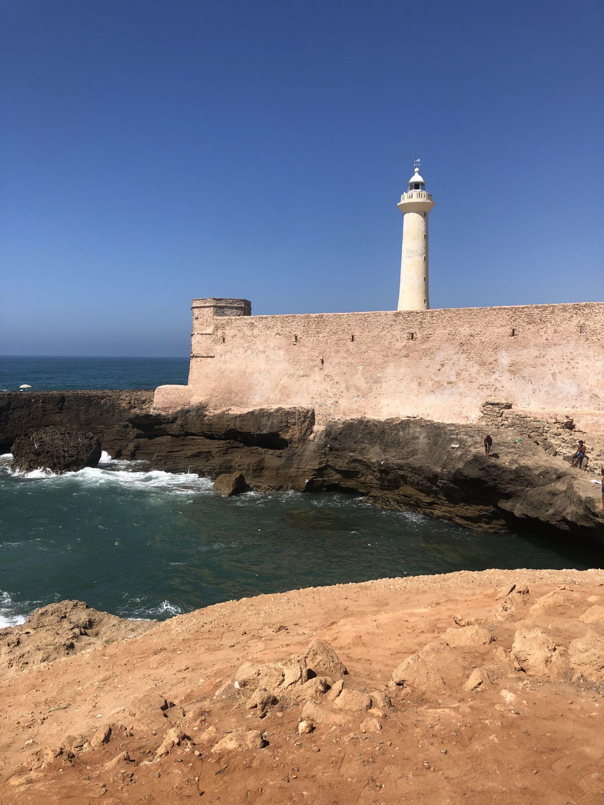 Itinerario Marocco in treno_il faro di Rabat