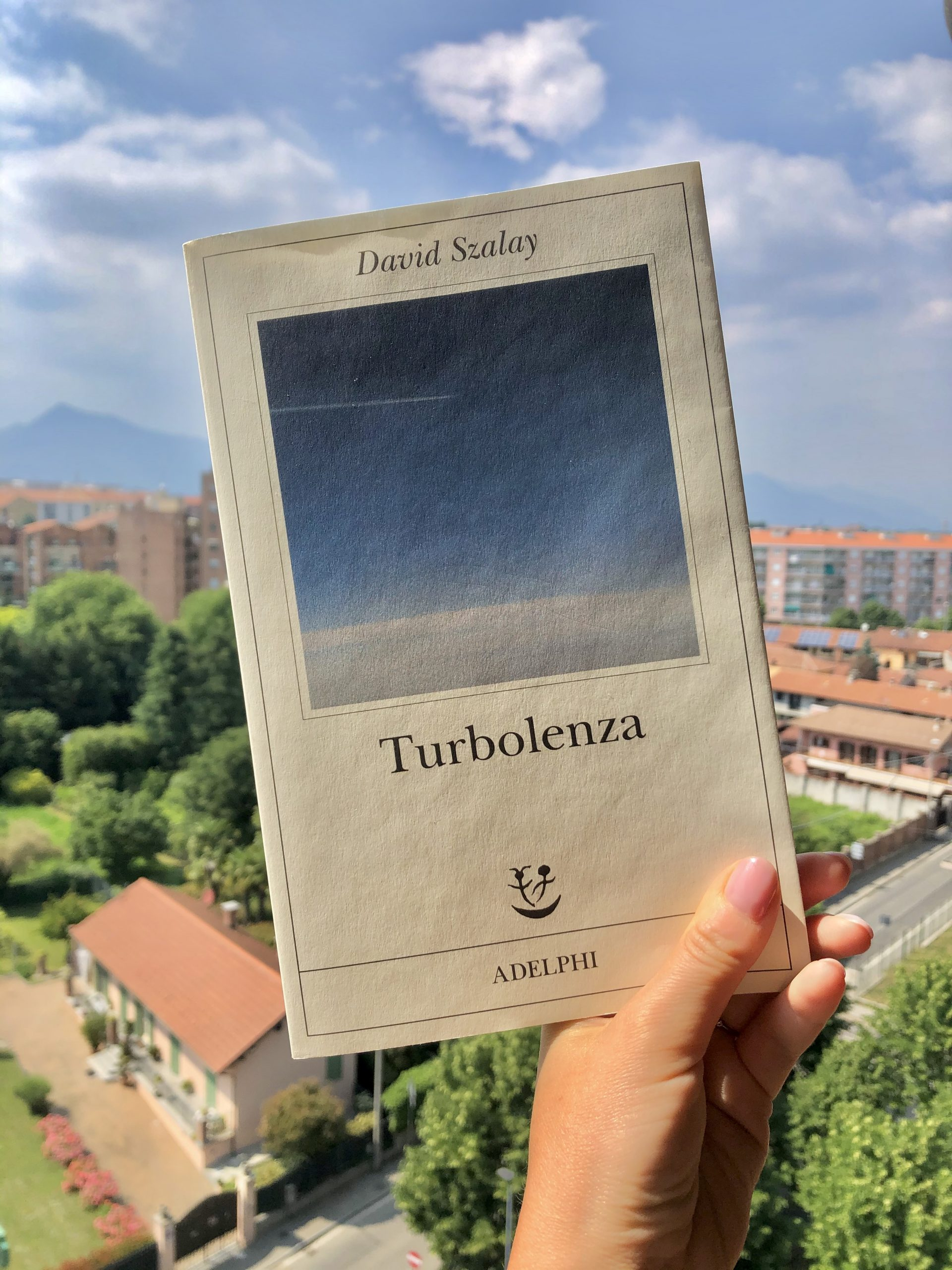 Turbolenza libro David Szalay