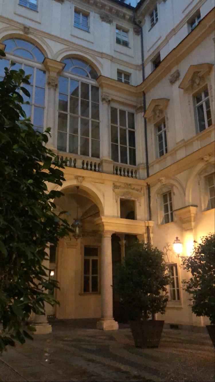 Il cortile di Palazzo di Città