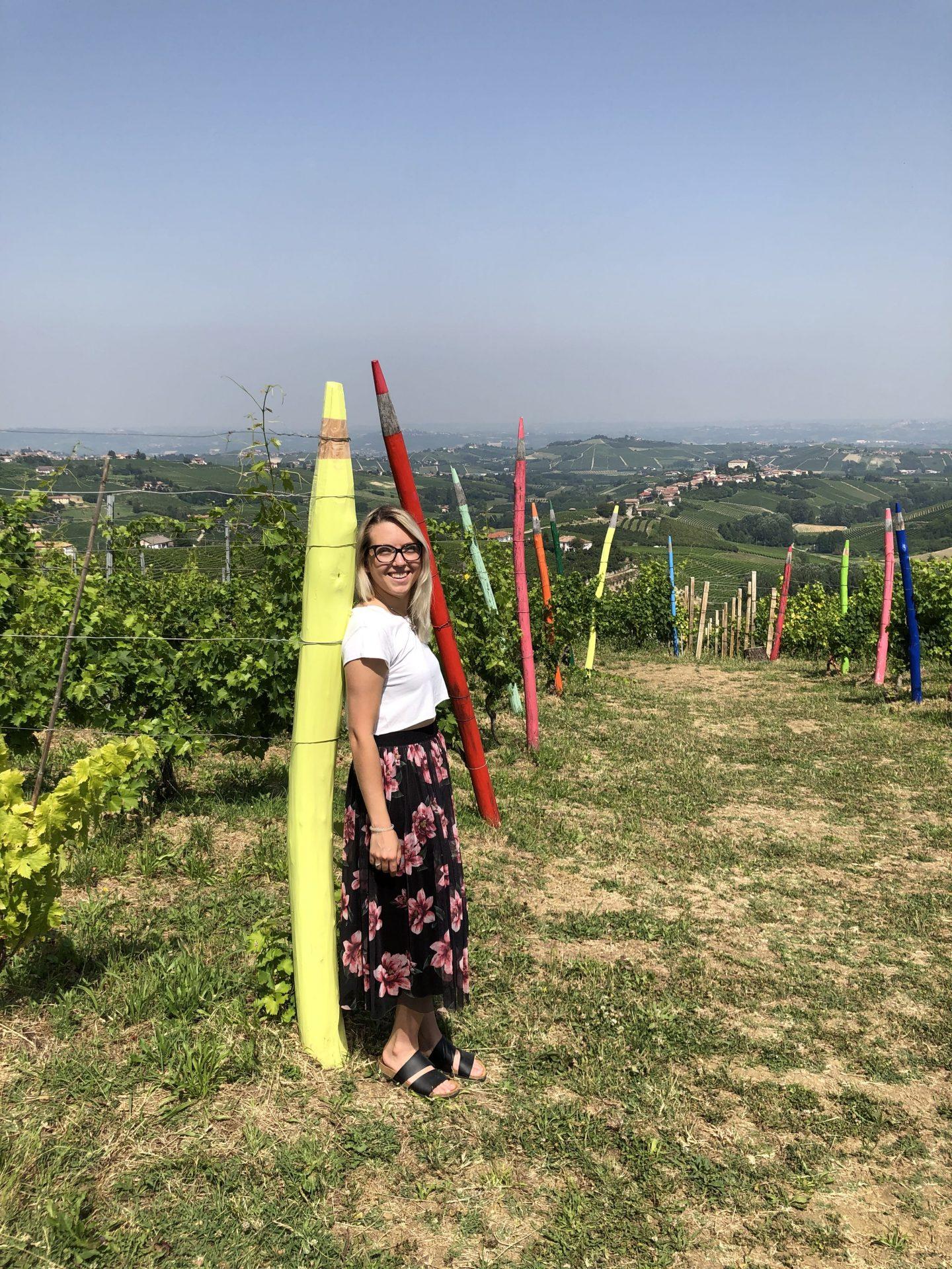 La Vigna dei Pastelli, a Coazzolo
