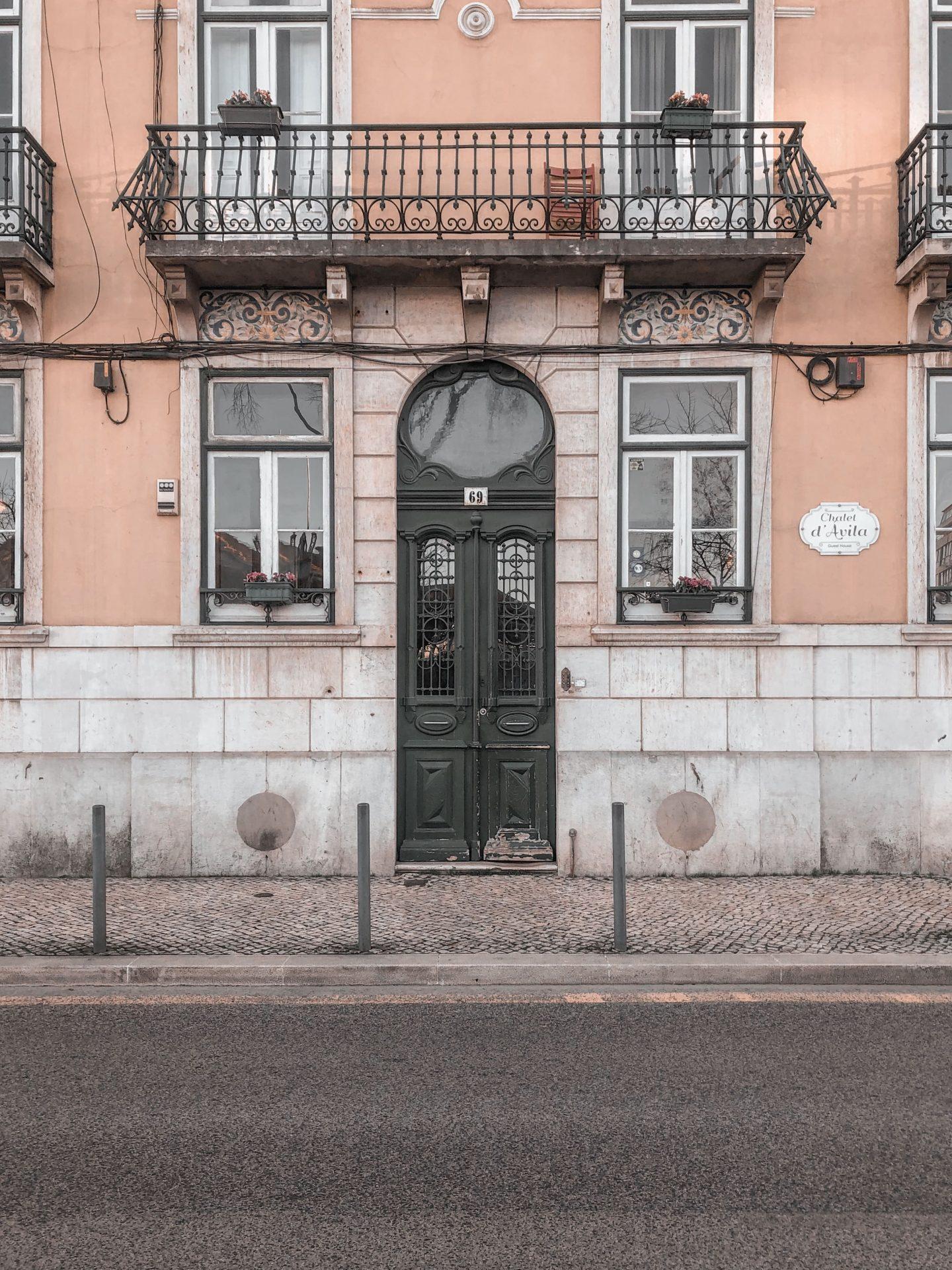 Chalet d'Avila - ingresso