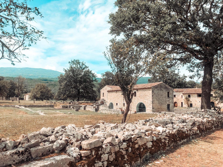 Resti della città di Altilia