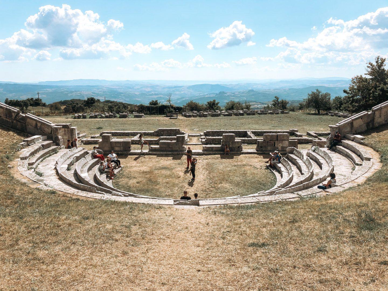 Anfiteatro di Pietrabbondante