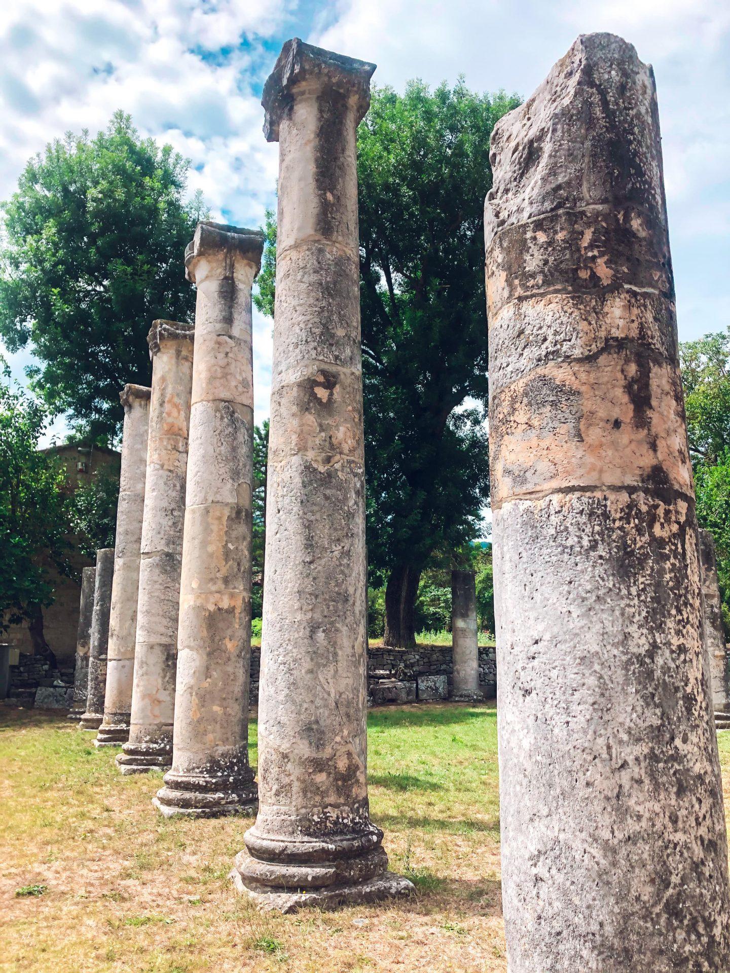 Resti del tempio di Altilia