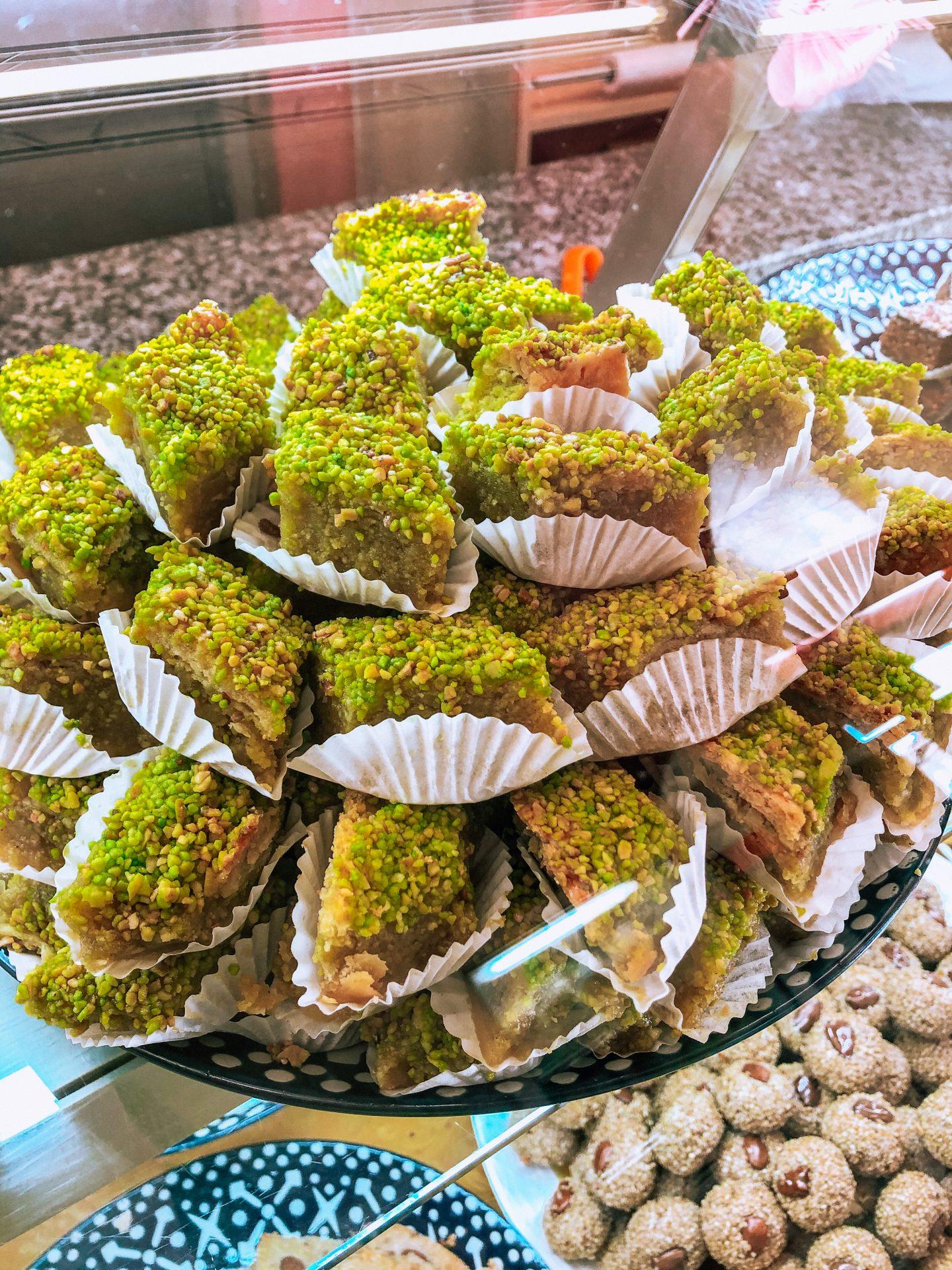 dolci al pistacchio marocchini