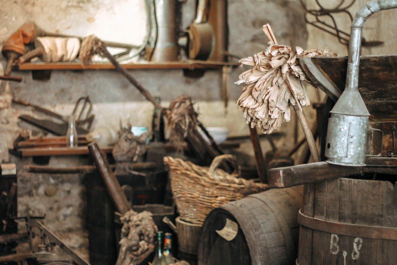 strumenti per fare il vino