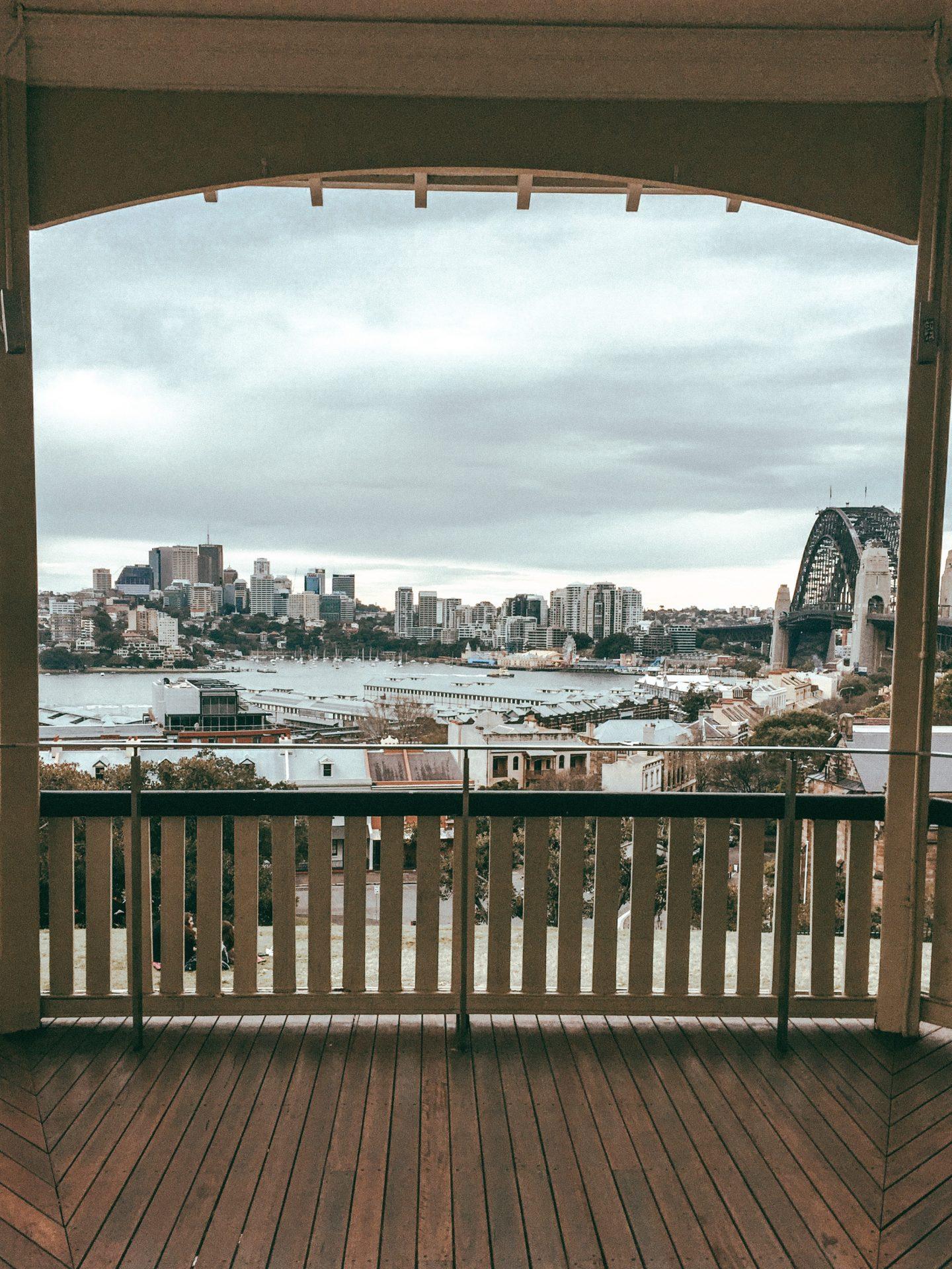 Vista su Sydney dall'Osservatorio
