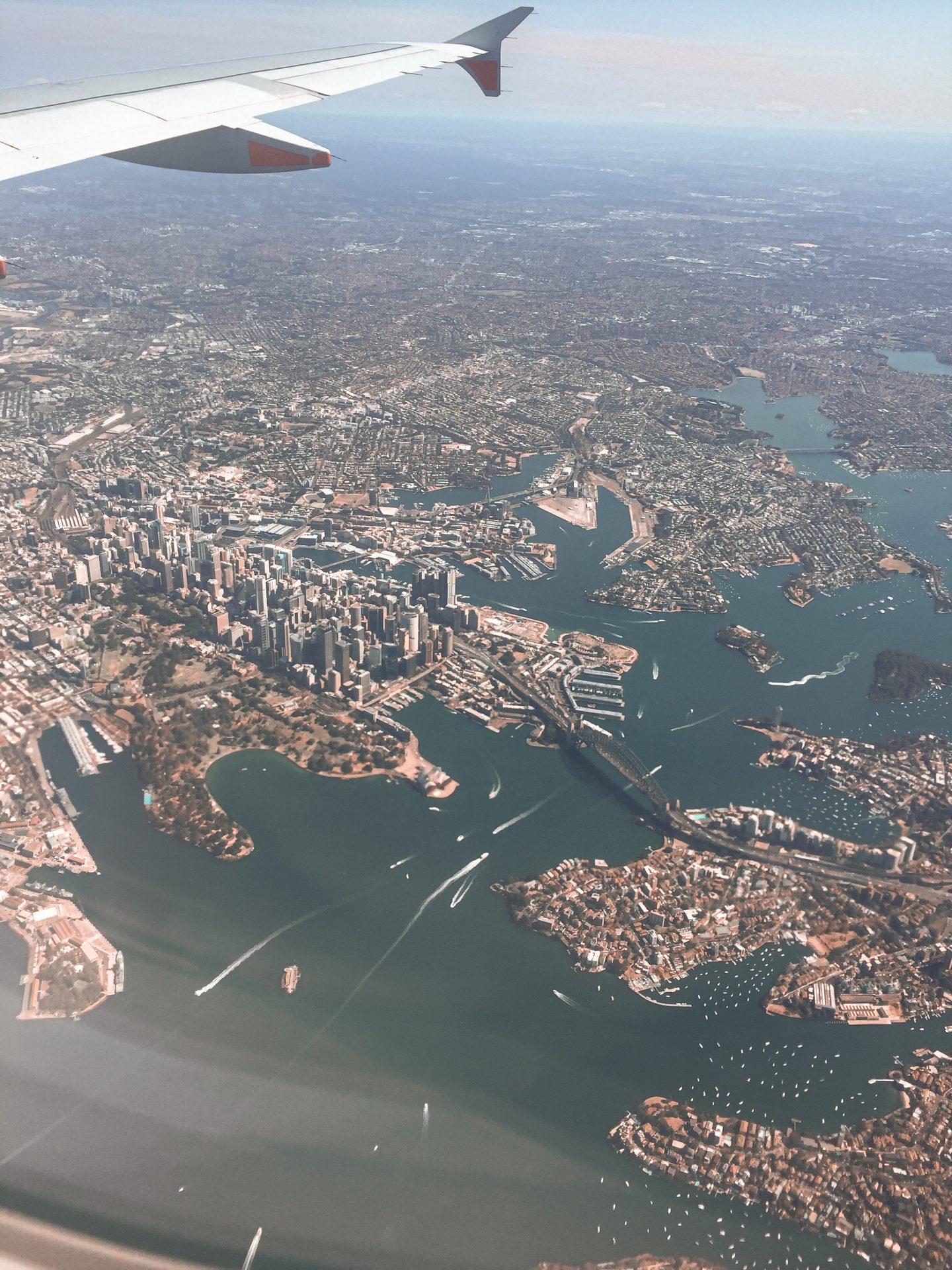 Sydney dall'alto